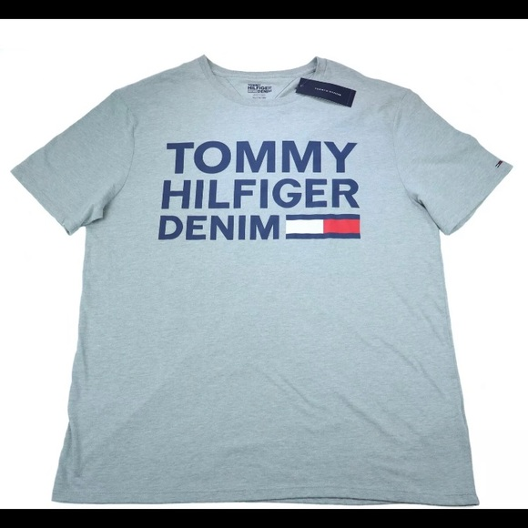 XL new with tag Tommy Hilfiger Men Crew Neck short sleeves T-shirt size L